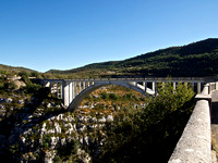 The pont de Chaulière over the river Artuby Grand canyon du Verdon, Alpes-de-Haute-Provence, France